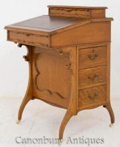Buy Arts And Craft Davenport Walnut Desk Online
