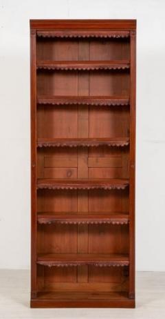 Buy Victorian Open Front Bookcase Mahogany Antiq