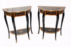 Buy Pair Lacquered Console Tables French Empire