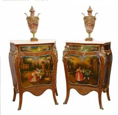 Buy Pair Painted French Cabinets Vernis Martin C