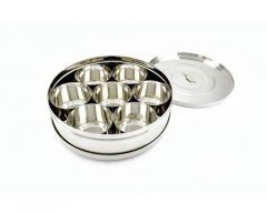 Stainless Steel Spice Box and Masala Dabba for Kitchen