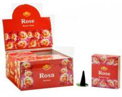 SAC Rose Incense Cones Pack of 12