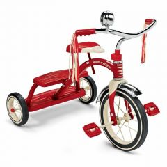 New Radio Flyer Tricycle Classic Red Trike Kids Bike Retro Toy Ride 3 Wheel