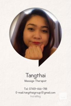 Professional Thai massage authentic byThai lady