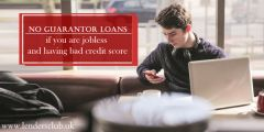 No Guarantor Loans for Jobless With Bad Credit