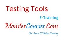 Testing tools Online Training at MonsterCourses