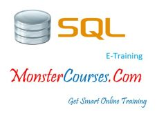 SQL Online Training at MonsterCourses