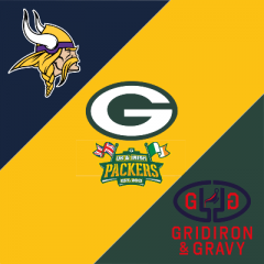 Gridiron & Gravy // Green Bay Packers: UK & Irish Packers @ Vikings