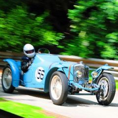The Footman James Motorsport at the Palace