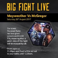 Watch the Mayweather Vs McGregor fight at Molineux