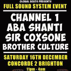 Culture Clash part 1 - Channel 1-Aba Shanti-Sir Coxsone
