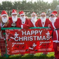 Santa Run Inflatable 5K