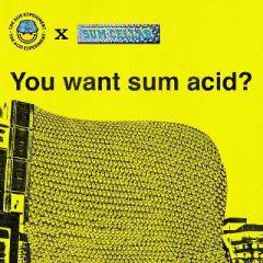 The Acid Experiment x Sum Cellar Presents: YOU WANT SUM ACID?