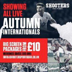England v Samoa - Autumn Internationals