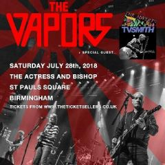 The Vapors + TV Smith