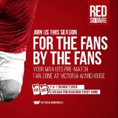 Red Square Live Screening v Man City