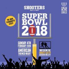 Super Bowl 52 Live at Shooters Bar Leeds