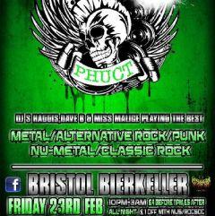 PHUCT - Bristol's Rock Metal Alternative