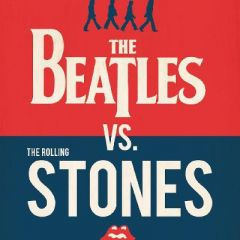 the beatles v the rolling stones