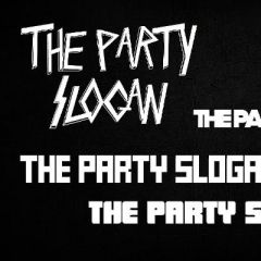 Green Frog Records pres.. The Party Slogan LIVE