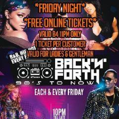 Karma Ealing - Back N Forth - Fri 2nd  MAR - Free Online tickets