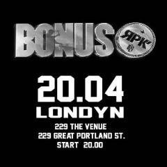 Bonus RPK w Londynie