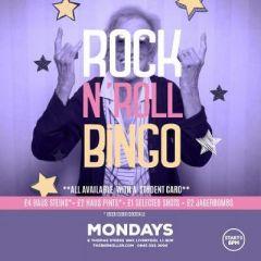 Rock n Roll Bingo & Karaoke returns!