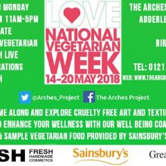 National Vegetarian Week at The Arches