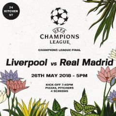 Liverpool vs Real Madrid - Champions League Final
