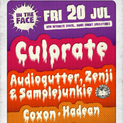 In The Face: Culprate, Sample Junkie, Zenji, Audiogutter, Coxon