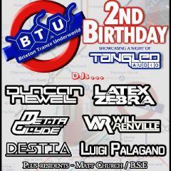 Brixton Trance Underworld 2nd Birthday with Tangled Audio