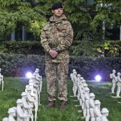 Remembrance Art Trail at Canary Wharf to mark WWI centenary