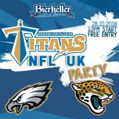 Manchester Titan's NFL UK Sunday Party!