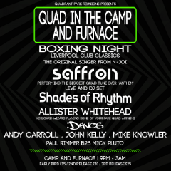 Camp and Furnace BOXING NIGHT Party