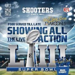 Super Bowl LIII live at Shooters Bar Leeds
