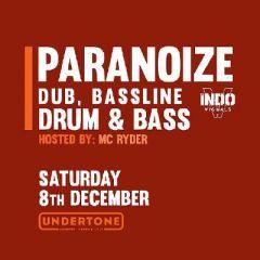 Paranoize X Dub, Bassline & Drum & Bass