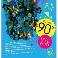 That's so 90's NYE Party!