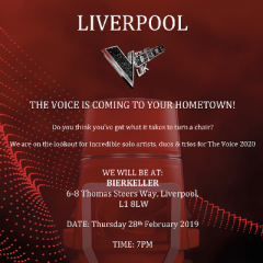 ITV's The Voice UK - scouting at Bierkeller