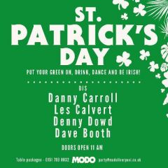 St Patricks Day (weekend party)