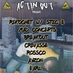 Actin-Out Presents: 1st Birthday Bash