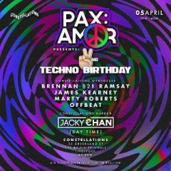 PAX:AMOR 2 Year Birthday w/ Residents & Friends