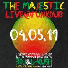 The Majestic live at Funkdub