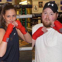 Adam & Ella's White Collar Boxing Event