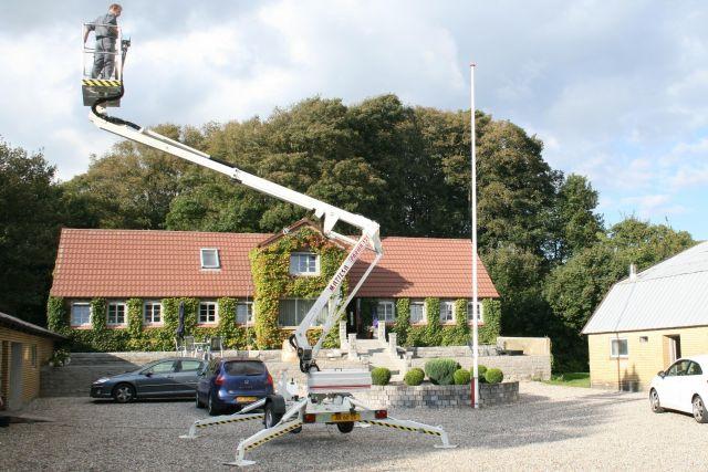 Trailer mounted aerial work platform Matilsa Parma12T 3 Image