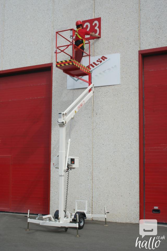 Trailer mounted aerial work platform Matilsa Parma7 8 Image