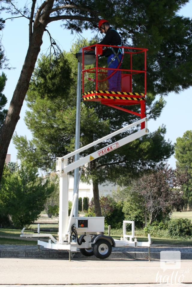 Trailer mounted aerial work platform Matilsa Parma7 5 Image