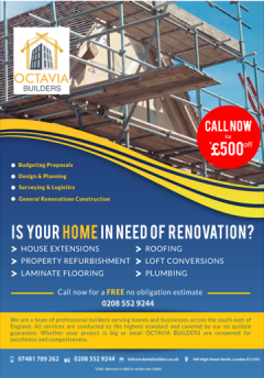 Professional New Building,Flat & House Renovatio