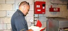 Fire Risk Assessment In A Communal Area In Cardi
