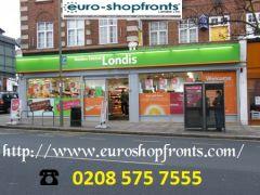 Aluminium Shop Fronts - Euro Shopfronts