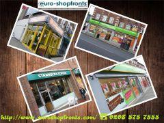 Aluminium Shop Fronts - Custom Aluminium Shopfro